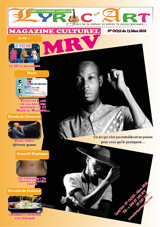 LyricArt Mag 0052 From March 15th 2018